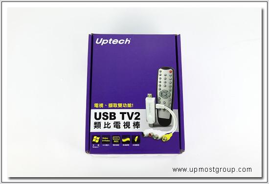 upmost usb tv2模拟电视接收器 预约录影 影像截取 支持windows8